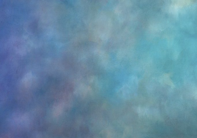 Painted textured studio backdrop in shades of blue and green. Ideal for creating backdrops for dramatic studio portaits